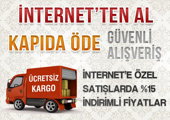 İnternetten Al - Kapıda Öde